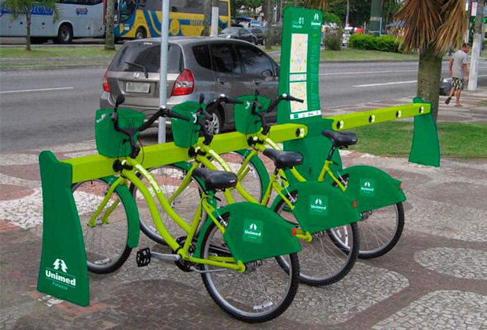 Unimed Fortaleza anuncia patrocínio que viabiliza o projeto de bicicletas compartilhadas
