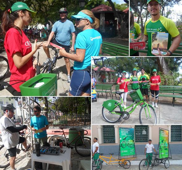 Unimed Fortaleza promove divulgação do Bicicletar