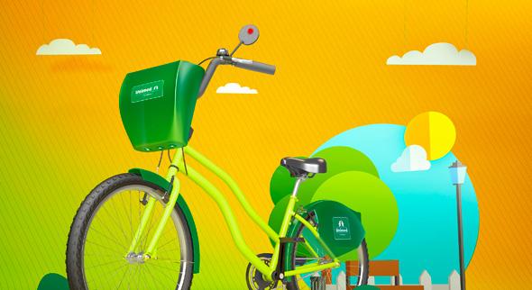 Unimed Fortaleza e Prefeitura entregam primeira etapa do Bicicletar