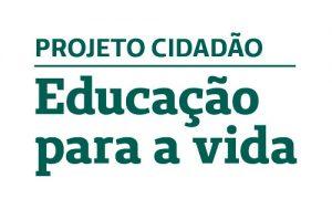 Logo do Projeto Cidadão: Educação para a vida