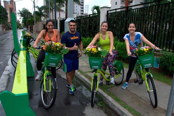 Unimed Fortaleza surpreende mulheres no bicicletar