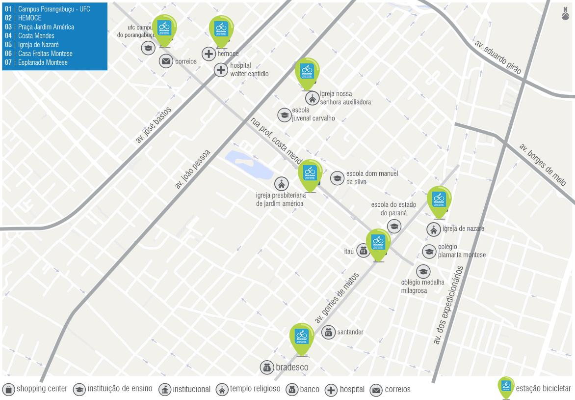 Sete novas estações do Bicicletar serão entregues neste sábado (31)