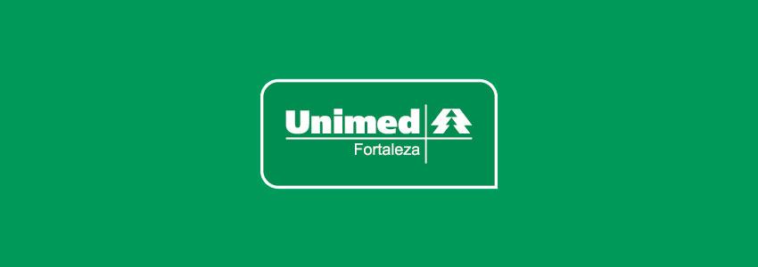 Banner verde com a logo da Unimed Fortaleza