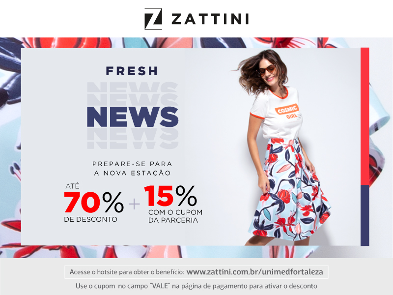 Confira todas as vantagens das lojas Zattini