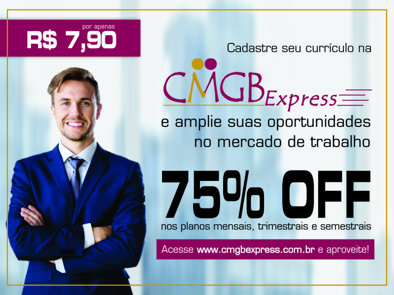 Confira os descontos da CMGB Express