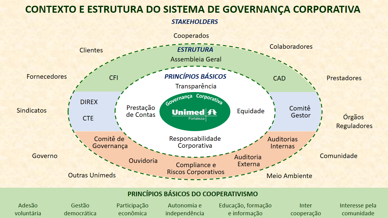 contexto e estrutura do sistema de governança corporativa
