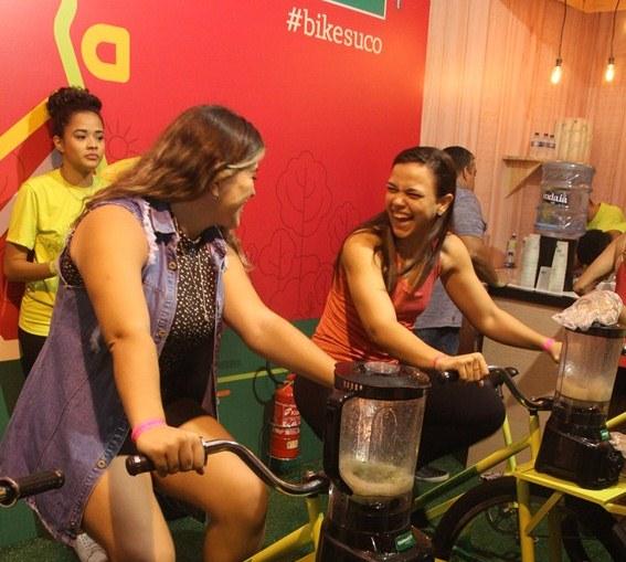BikeSuco: ação da Unimed Fortaleza é sucesso no Festival Costume Saudável