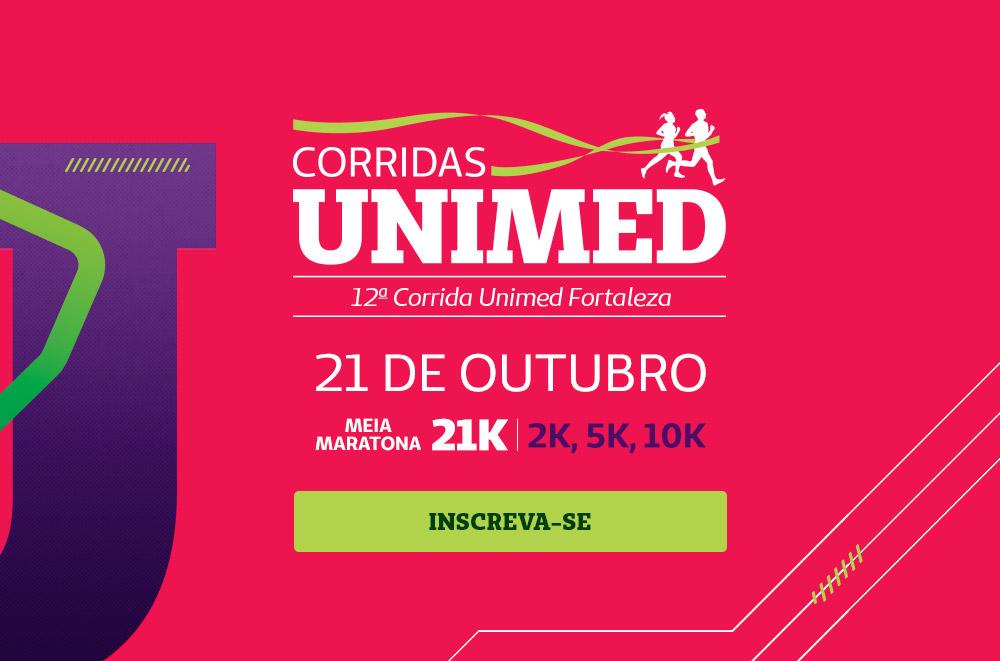 Participe da 12ª corrida virtual, o evento acontecerá no dia 21 de outubro com as categorias 2, 5, 10 e 21 quilômetros. Clique para inscrever-se.