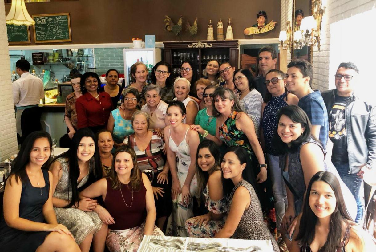 Participantes do Roda de Vida reunidos