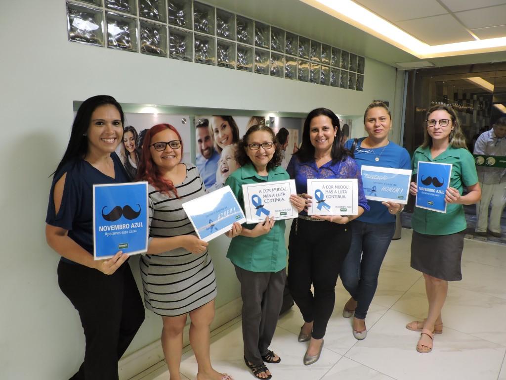 Foto de alguns participantes da Roda de Conversa sobre Novembro Azul