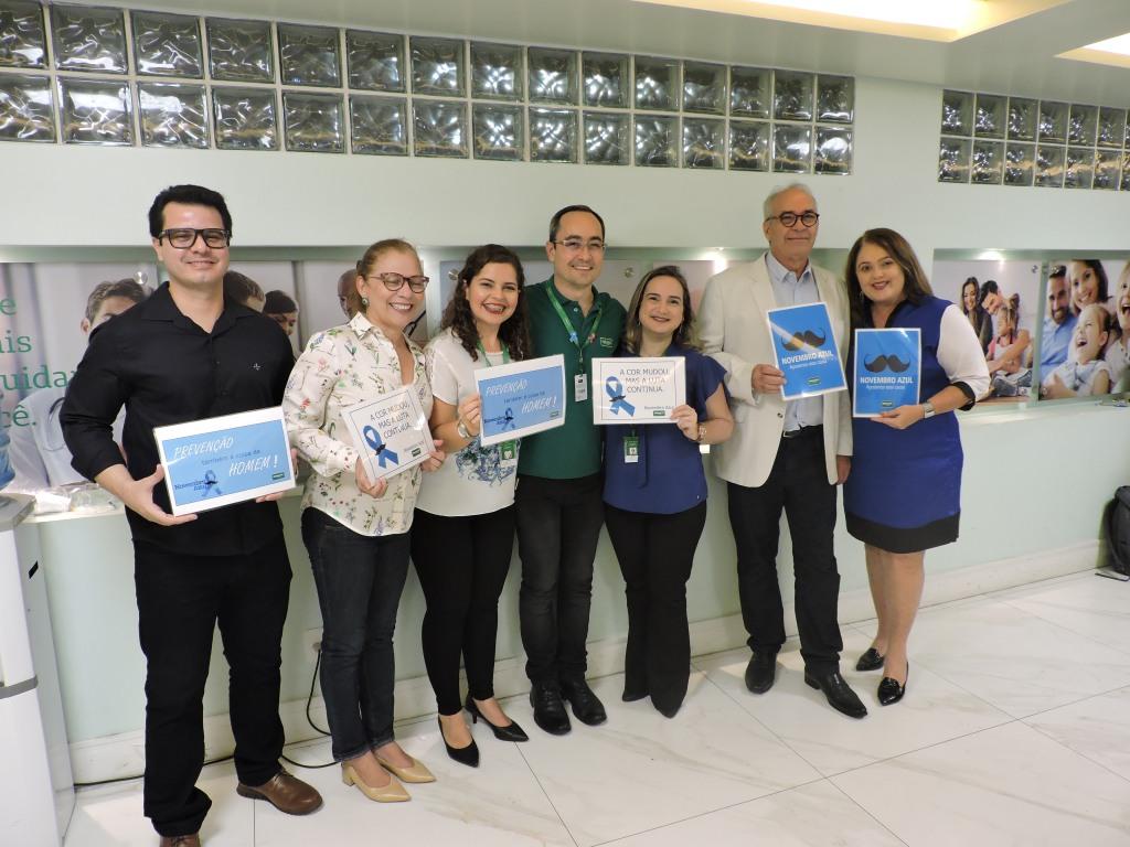 Foto dos organizadores da Roda de Conversa sobre Novembro Azul