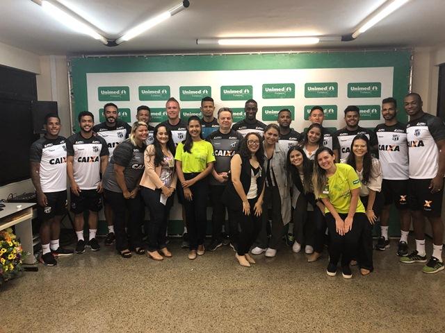 Ceará realiza check-up para início da temporada dos jogos no HRU