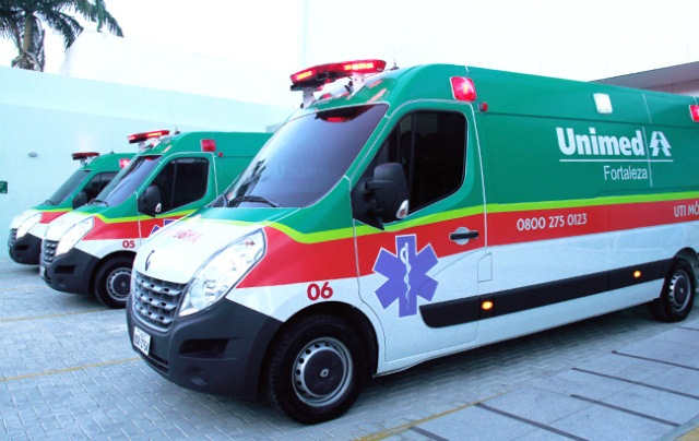 Ambulancia da Unimed Urgente