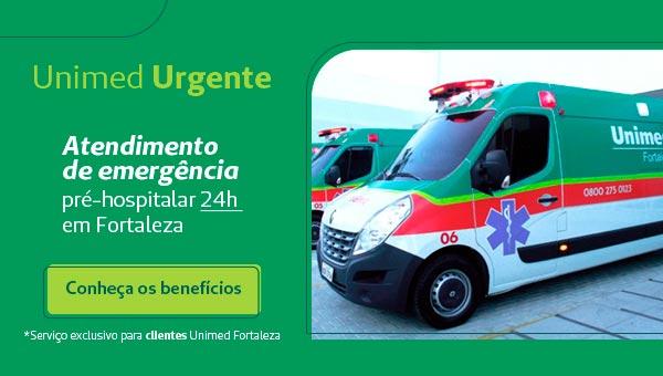 Ambulância Unimed Urgente