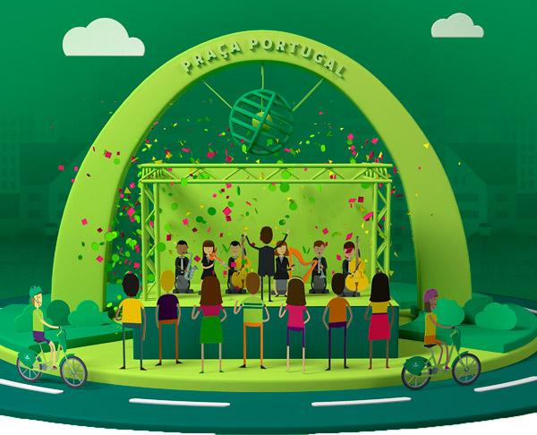 Deixe o carro em casa e venha curtir uma orquestra que vai deixar você na trilha da música!