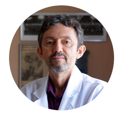 Foto do Dr. Luiz Dantas, otorrinolaringologista