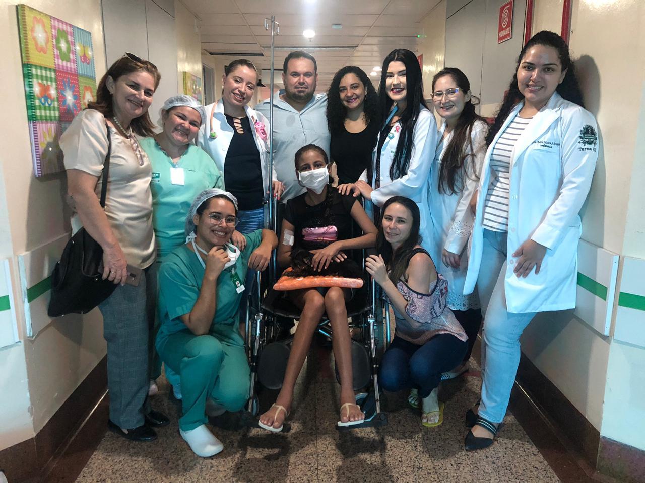 Quando a alta do Hospital vem acompanhada de uma surpresa especial