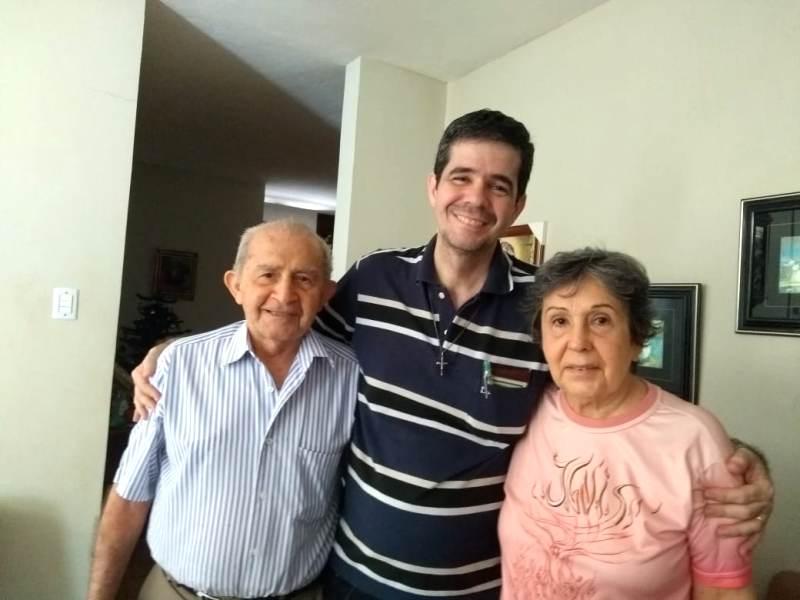Humberto e sua família