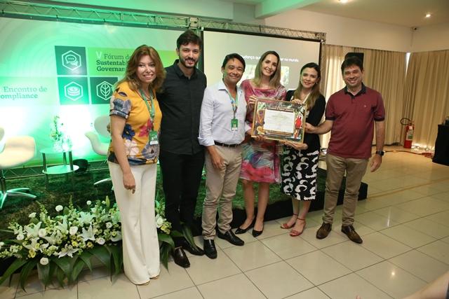 Unimed Fortaleza recebe prêmio de Mérito Ambiental