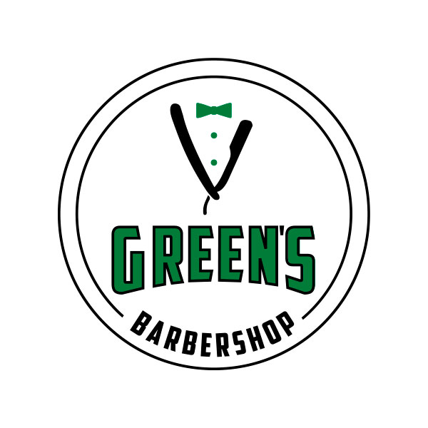 logo Green's Barbeshop