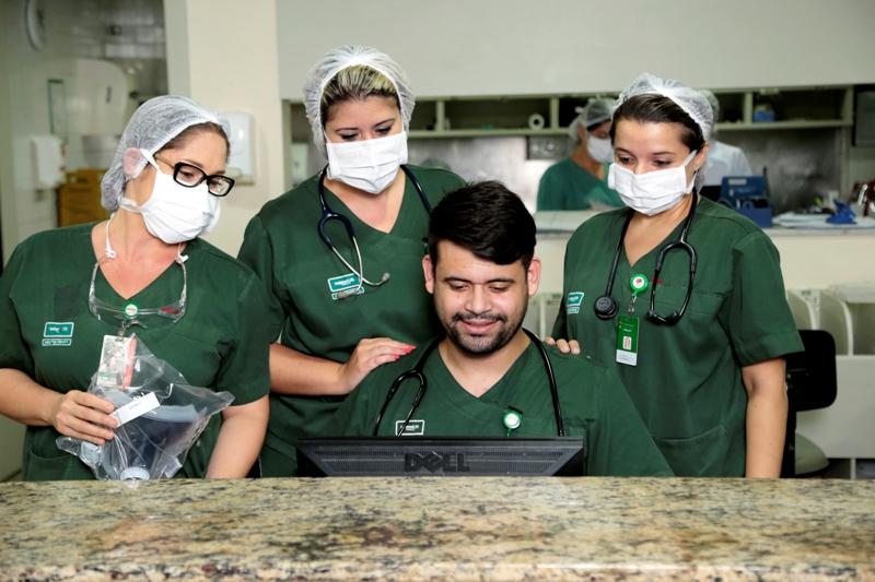 Equipe de fisioterapia do Hospital Unimed muda fluxos para melhor atender pacientes com Covid-19