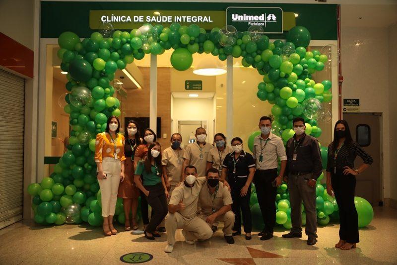 Fachada da Clínica de Saúde Integral no Shopping Riomar Fortaleza