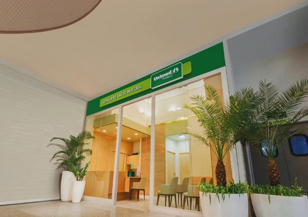 Fachada da Clínica de Saúde Integral do RioMar Fortaleza