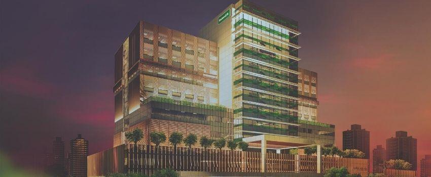 Fachada do novo Hospital Materno-Infantil da Unimed Fortaleza