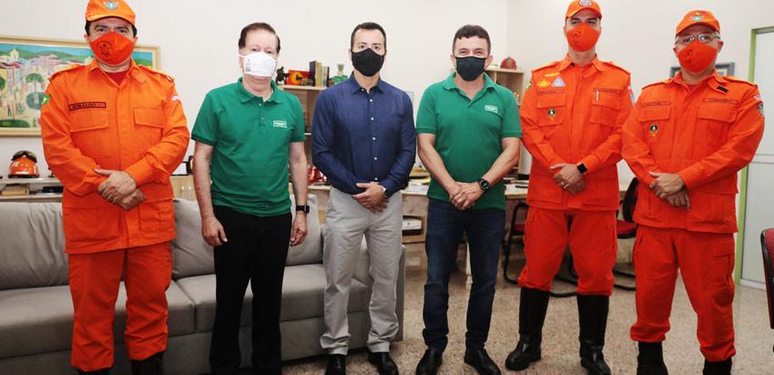 Corpo de Bombeiros e Unimed Fortaleza firmam parceria