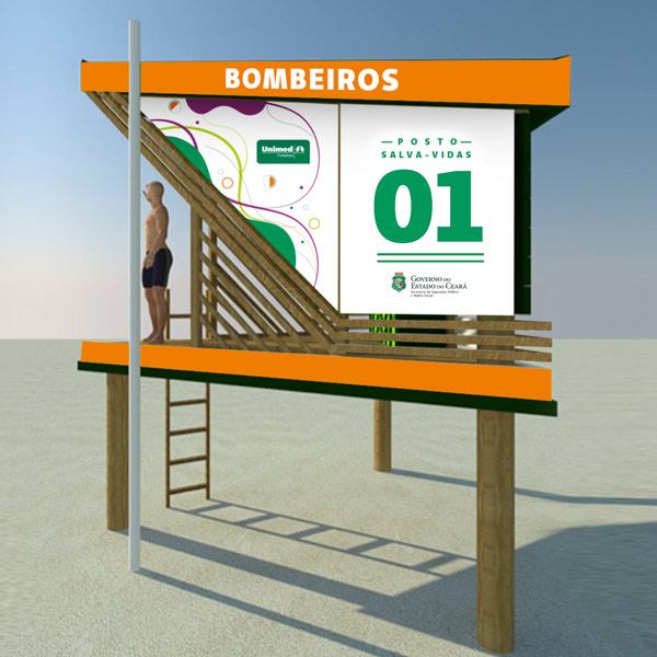Novos postos guarda-vidas na Praia do Futuro: nosso presente para a cidade!