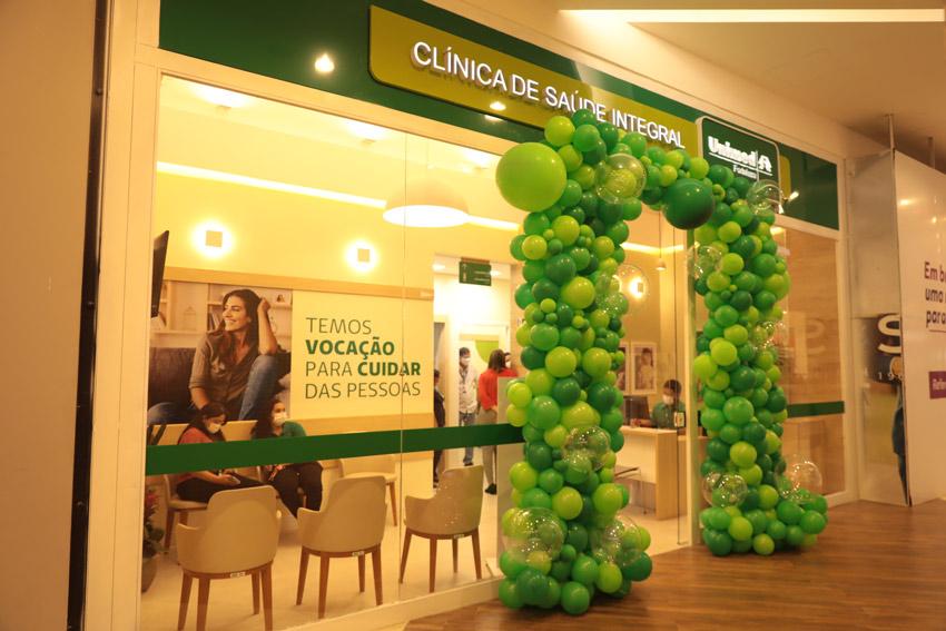 Fachada da Clínica de Saúde Integral inaugurada em Messejana