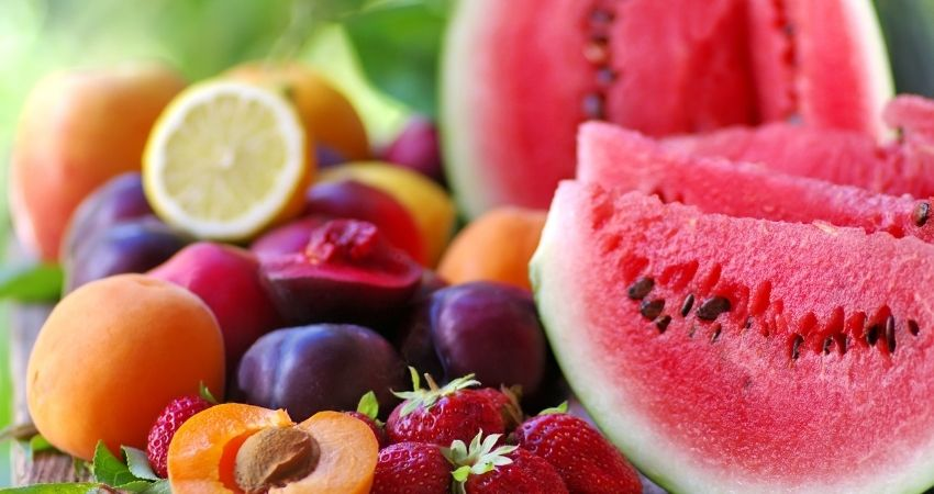 Imagem de frutas variadas