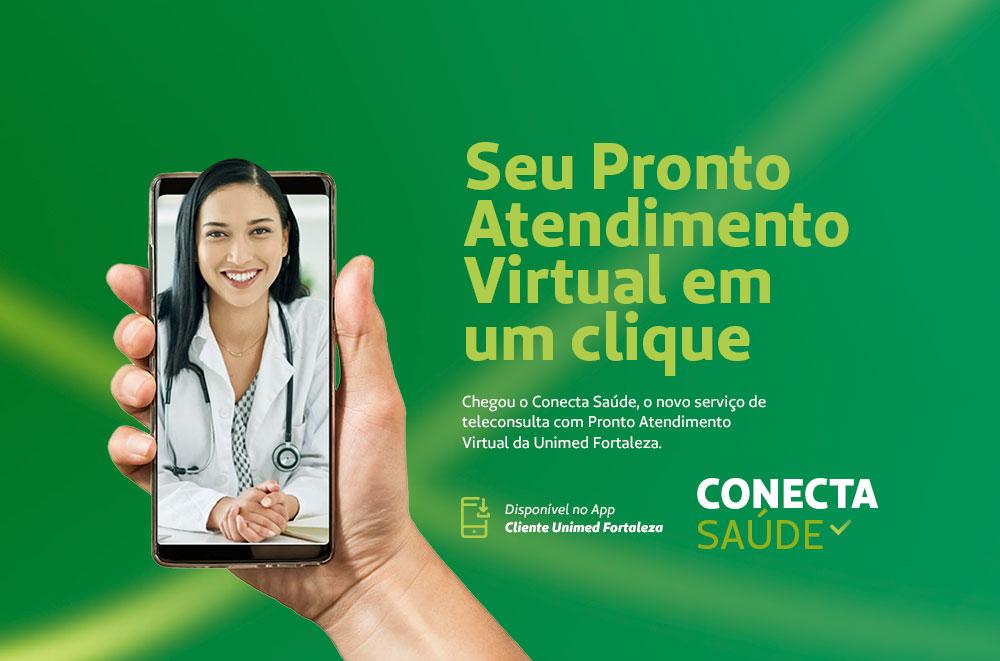 Conheça o Conecta Saúde, o novo serviço de tele atendimento com Pronto Atendimento Virtual