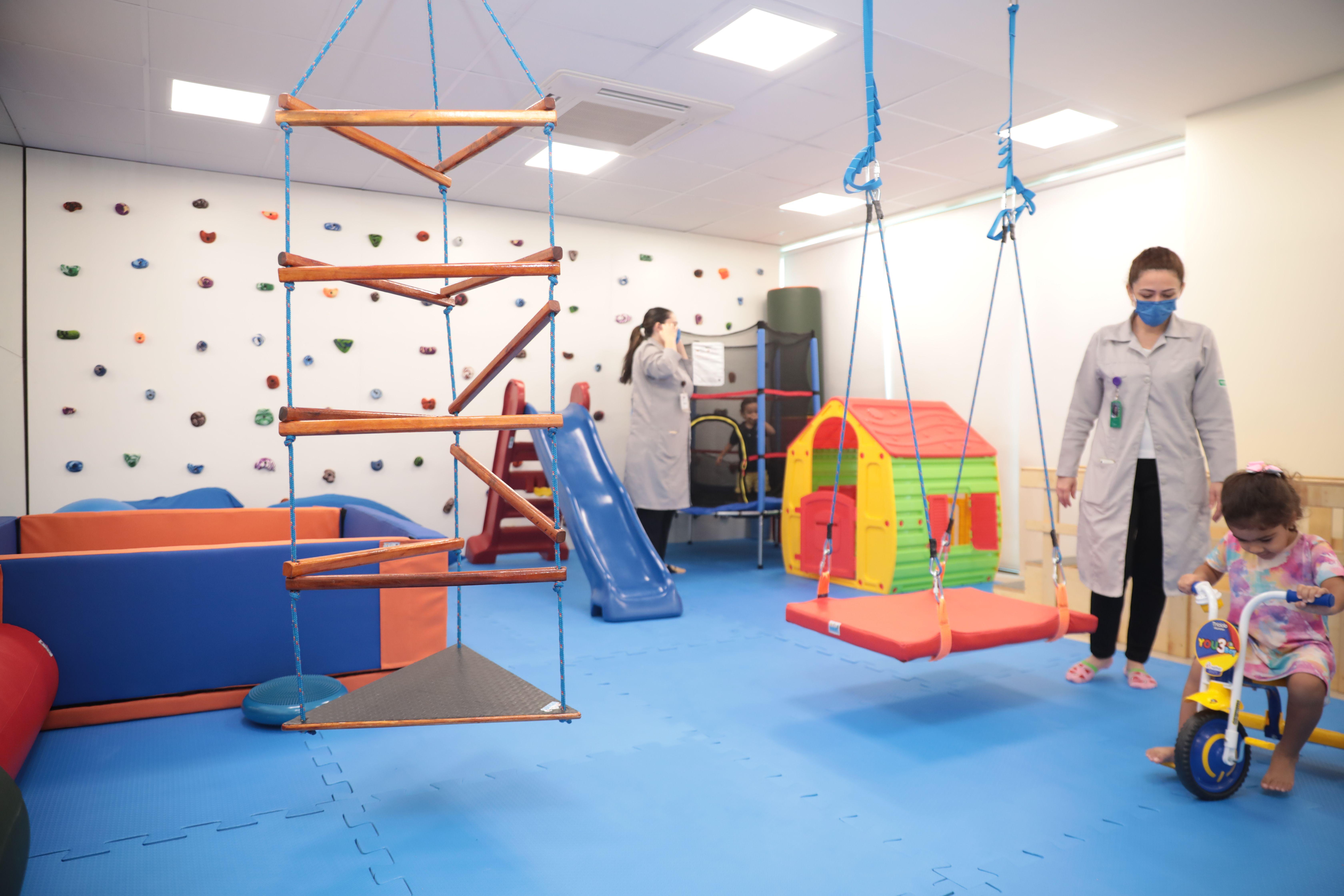 Novo espaço para crianças com Transtorno do Espectro Autista (TEA)
