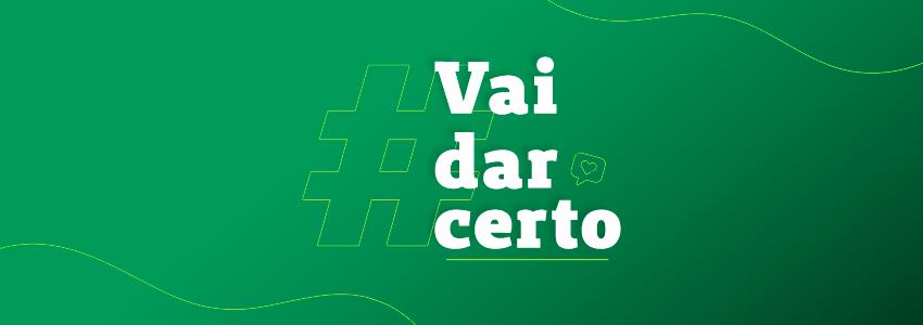 Imagem campanha #VaidarCerto