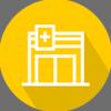 ícone representando uma clínica